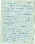 Letter from Mary to Family- April 19, 1925