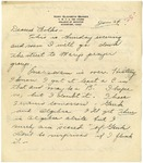 Letter from Mary to Parents- January 24, 1926