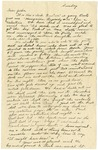 Letter from Mary to Parents- February 15, 1925