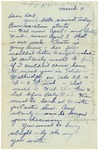 Letter from Mary to Father- March 4, 1925