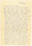 Letter from Mary to Mother and Father- April 10, 1927