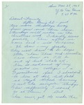 Letter from Mary to Family- November 28, 1925
