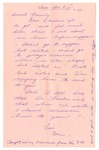 Letter from Mary to Family - Thursday December 3, 1926