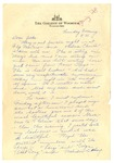 Letter from Mary to Folks - Sunday circa 1927 by Mary Behner