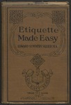 Etiquette Made Easy by Edward Summers Squier
