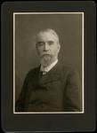 Portrait of Sylvester F. Scovel, on Black Background