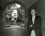 Photograph of R. Stanton Hales in Kauke Arch