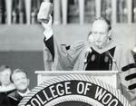President R. Stanton Hales Adresses Students