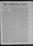 Wooster voice. (Wooster, Ohio), 1902-11-01 by Wooster Voice Editors