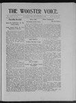 Wooster voice. (Wooster, Ohio), 1903-11-23 by Wooster Voice Editors
