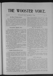 Wooster voice. (Wooster, Ohio), 1905-12-04 by Wooster Voice Editors
