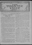 Wooster voice. (Wooster, Ohio), 1907-10-16 by Wooster Voice Editors