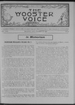 Wooster voice. (Wooster, Ohio), 1907-10-23 by Wooster Voice Editors