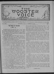 Wooster voice. (Wooster, Ohio), 1907-11-13 by Wooster Voice Editors
