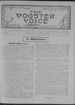 Wooster voice. (Wooster, Ohio), 1907-11-20