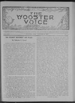 Wooster voice. (Wooster, Ohio), 1908-01-15 by Wooster Voice Editors