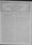 Wooster voice. (Wooster, Ohio), 1908-01-22 by Wooster Voice Editors