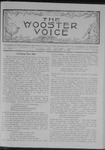 Wooster voice. (Wooster, Ohio), 1908-02-12 by Wooster Voice Editors