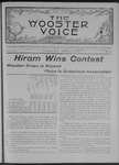 Wooster voice. (Wooster, Ohio), 1908-02-19 by Wooster Voice Editors