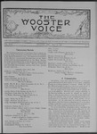 Wooster voice. (Wooster, Ohio), 1908-05-13 by Wooster Voice Editors