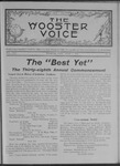 Wooster voice. (Wooster, Ohio), 1908-06-17 by Wooster Voice Editors