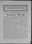 Wooster voice. (Wooster, Ohio), 1908-09-22 by Wooster Voice Editors