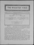 Wooster voice. (Wooster, Ohio), 1908-09-29 by Wooster Voice Editors