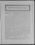 Wooster voice. (Wooster, Ohio), 1908-10-13 by Wooster Voice Editors