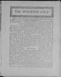Wooster voice. (Wooster, Ohio), 1908-12-08 by Wooster Voice Editors