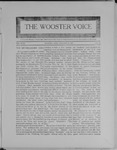 Wooster voice. (Wooster, Ohio), 1909-01-19 by Wooster Voice Editors