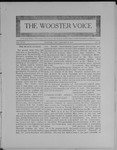 Wooster voice. (Wooster, Ohio), 1909-01-26 by Wooster Voice Editors