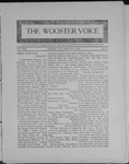 Wooster voice. (Wooster, Ohio), 1909-02-24 by Wooster Voice Editors