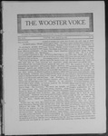 Wooster voice. (Wooster, Ohio), 1909-03-24 by Wooster Voice Editors