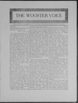Wooster voice. (Wooster, Ohio), 1909-04-14 by Wooster Voice Editors