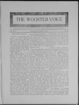 Wooster voice. (Wooster, Ohio), 1909-04-21 by Wooster Voice Editors