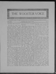 Wooster voice. (Wooster, Ohio), 1909-04-28 by Wooster Voice Editors