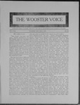 Wooster voice. (Wooster, Ohio), 1909-05-05 by Wooster Voice Editors