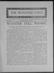 Wooster voice. (Wooster, Ohio), 1909-05-12 by Wooster Voice Editors