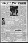 Wooster voice. (Wooster, Ohio), 1960-09-23 by Wooster Voice Editors