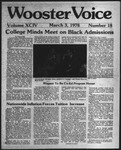 The Wooster Voice (Wooster, OH), 1978-03-03