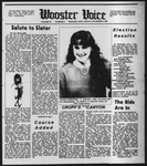 The Wooster Voice (Wooster, OH), 1984-11-09