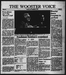 The Wooster Voice (Wooster, OH), 1985-11-15