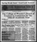The Wooster Voice (Wooster, OH), 1987-03-06