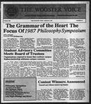 The Wooster Voice (Wooster, OH), 1987-03-27