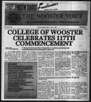 The Wooster Voice (Wooster, OH), 1987-05-01