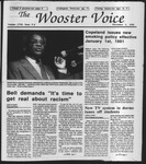 The Wooster Voice (Wooster, OH), 1990-11-02 by Wooster Voice Editors