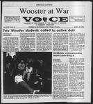 The Wooster Voice (Wooster, OH), 1991-01-25