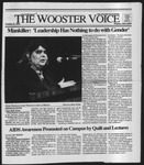 The Wooster Voice (Wooster, OH), 1991-10-11