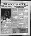 The Wooster Voice (Wooster, OH), 1991-10-18