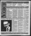 The Wooster Voice (Wooster, OH), 1992-10-02